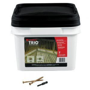 """FastenMaster Trio Torx TTAP Drive System 3"""" Deck Screw 1050 Count"""