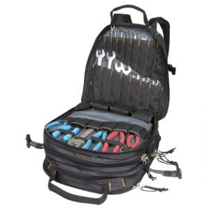 Custom LeatherCraft CLC 75 Pocket Tools Backpack - Tools
