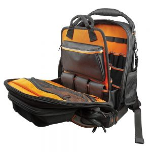 Klein Tool Master Tools Backpack - Open
