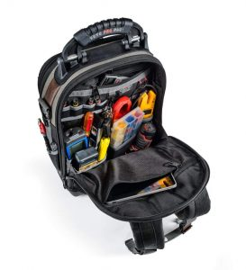 Veto Pro Pac Tech Pac tools backpack - back