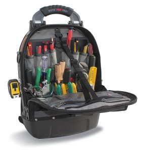 Veto Pro Pac Tech Pac tools backpack - strap